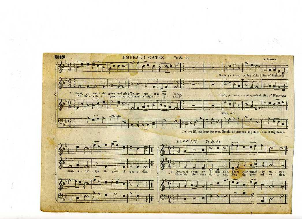 Long-lost Shenandoah tunebook found | Shenandoah Harmony